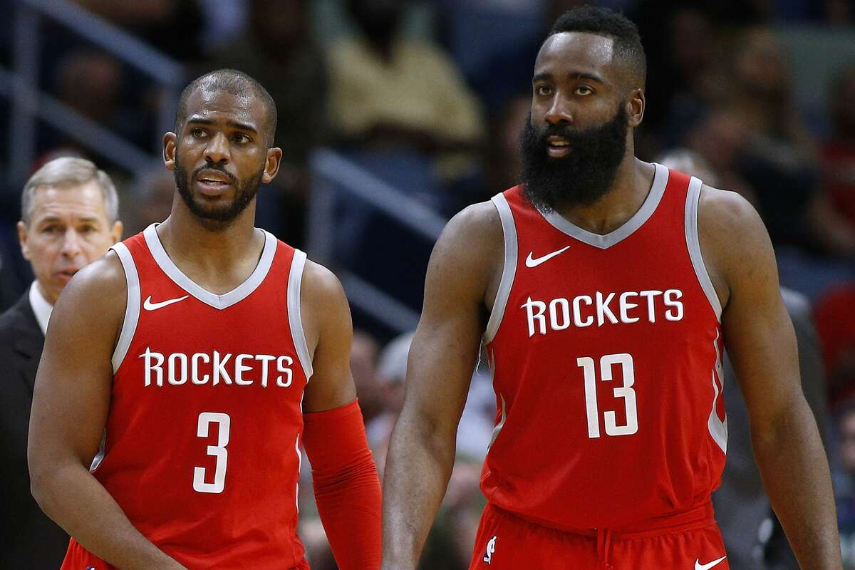 Guards As much as all playoff teams can cause opposing coaches headaches and sleepless nights, the prospect of defending James Harden and Chris Paul seems particularly vexing. For most teams that is a reaction to how devastating they have been one-on-one and how relentless the Rockets have been at getting them in isolation situations to go to work. Against the Timberwolves, it has been about defending them in pick-and-roll. Both also had their familiar moments finishing off wins. The Timberwolves backcourt has also been outstanding. Jimmy Butler was an All-Star with the Timberwolves in the race for third in the Western Conference before he was injured. Jeff Teague played against the Rockets like the All-Star he was in 2016, averaging 18 points on 54.2 percent shooting in those four games. Edge: Rockets. The Timberwolves backcourt is far better than many appreciate with Butler's impact on both ends of the floor helping to make the Wolves a much better team than a typical eighth seed. The Rockets' combination of Paul and Harden, however, has controlled games and has been outstanding in closing out close games, a key in the postseason.