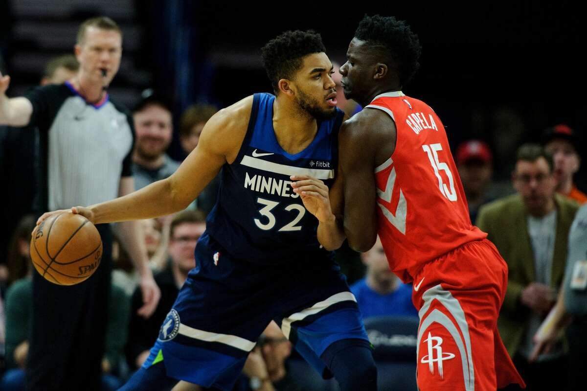 Center Karl-Anthony Towns is one of the NBA's top young centers, an outstanding scorer inside and in the mid-range with 3-point touch if he is left open there. Towns averages 21.3 points on 54.5 percent shooting this season, along with 12.3 rebounds, surpassing all those numbers in the matchups with the Rockets. Clint Capela, however, has held his own in the matchup. His 18.8 points were second only to Harden in games against the Timberwolves, with Capela making 78.9 percent of his shots against the Timberwolves. He has seemed especially determined to make Towns run with him, getting his share of possessions in which he has beaten Towns down the floor. He has averaged about 29 minutes against the Timberwolves with Towns on the floor for 35. Capela will have to play with that same energy for greater minutes to match up with the Timberwolves' young star. Edge: Timberwolves. Towns does not have to dominate, but the Wolves do need Towns to be sensational. He's capable, but the Rockets will try to make him work defensively, either defending pick-and-roll, switching or getting back as Capela runs the floor, likely a mix of all three. Capela is an underappreciated key to what the Rockets do, a point Wolves coach Tom Thibodeau has been making for two seasons. This will be one of the more interesting matchups.