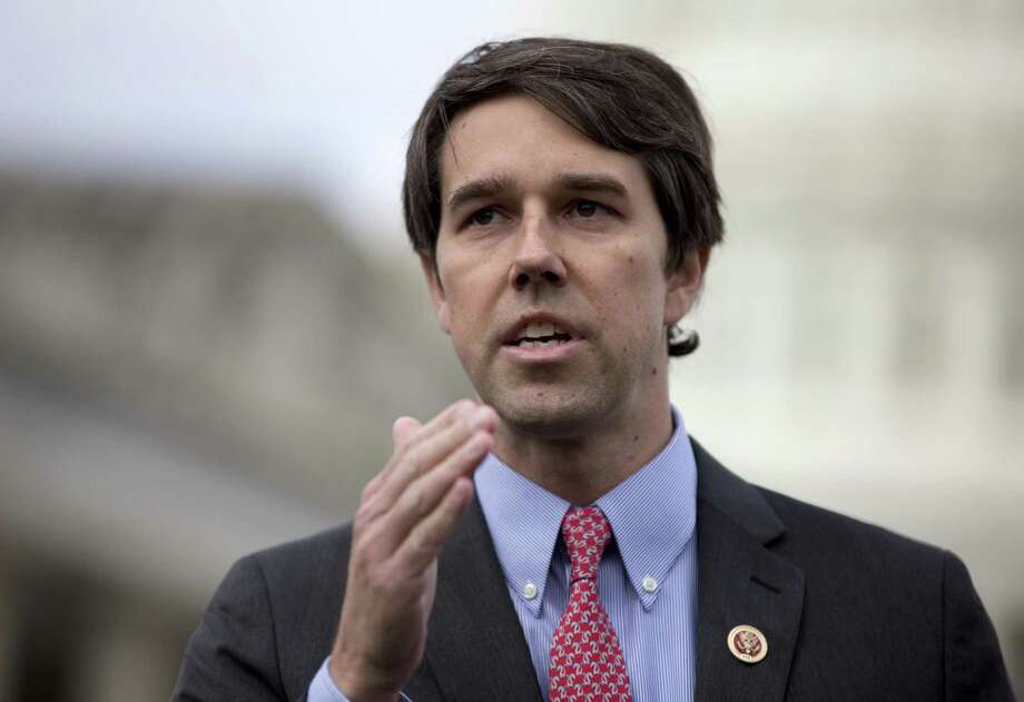 FILE - In this Feb. 27, 2013, file photo, Rep. Beto O'Rourke, D-Texas speaks during a news conference on Capitol Hill in Washington. The three-term, fluent Spanish-speaker announced Friday, March 31, 2017,  his bid to unseat Texas Republican Sen. Ted Cruz in 2018.  (AP Photo/Carolyn Kaster, File) Photo: Carolyn Kaster, STF / Associated Press / Stratford Booster Club