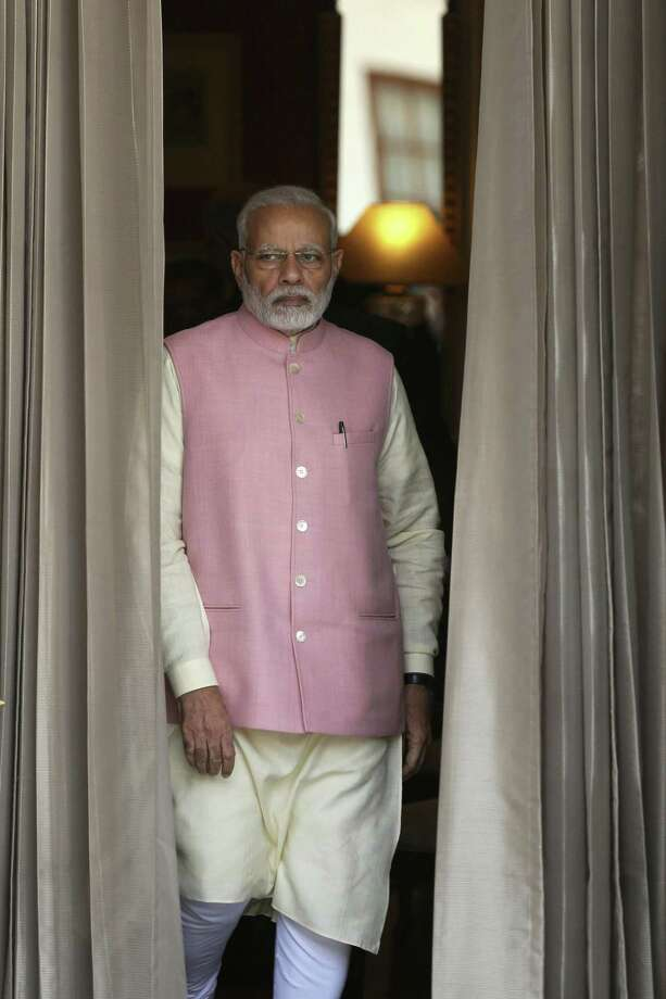 Indian Prime Minister Narendra Modi Photo: Associated Press / AP