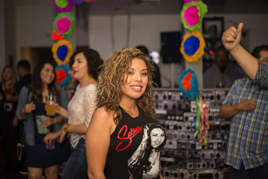 Locals celebrated and honored the memory of a Texas Tejano legend Friday night, April 13, 2018, at Groove House during its Selena Tribute Party. Here is a look at the food, fun and fans. Photo: Kody Melton For MySA