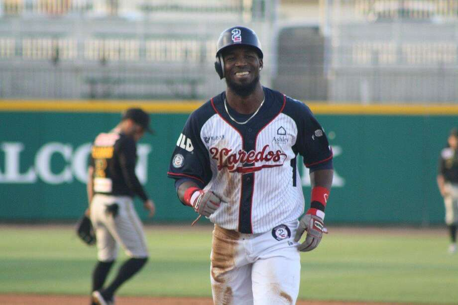 Tecolotes Dos Laredos outfielder Jeremias Pineda returned from injury starting Saturday but left in the fifth inning after an RBI single and two stolen bases. Photo: Courtesy Of Tecolotes Dos Laredos, File
