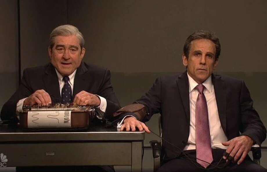 Ben Stiller and Robert De Niro guested on Saturday Night Live.
