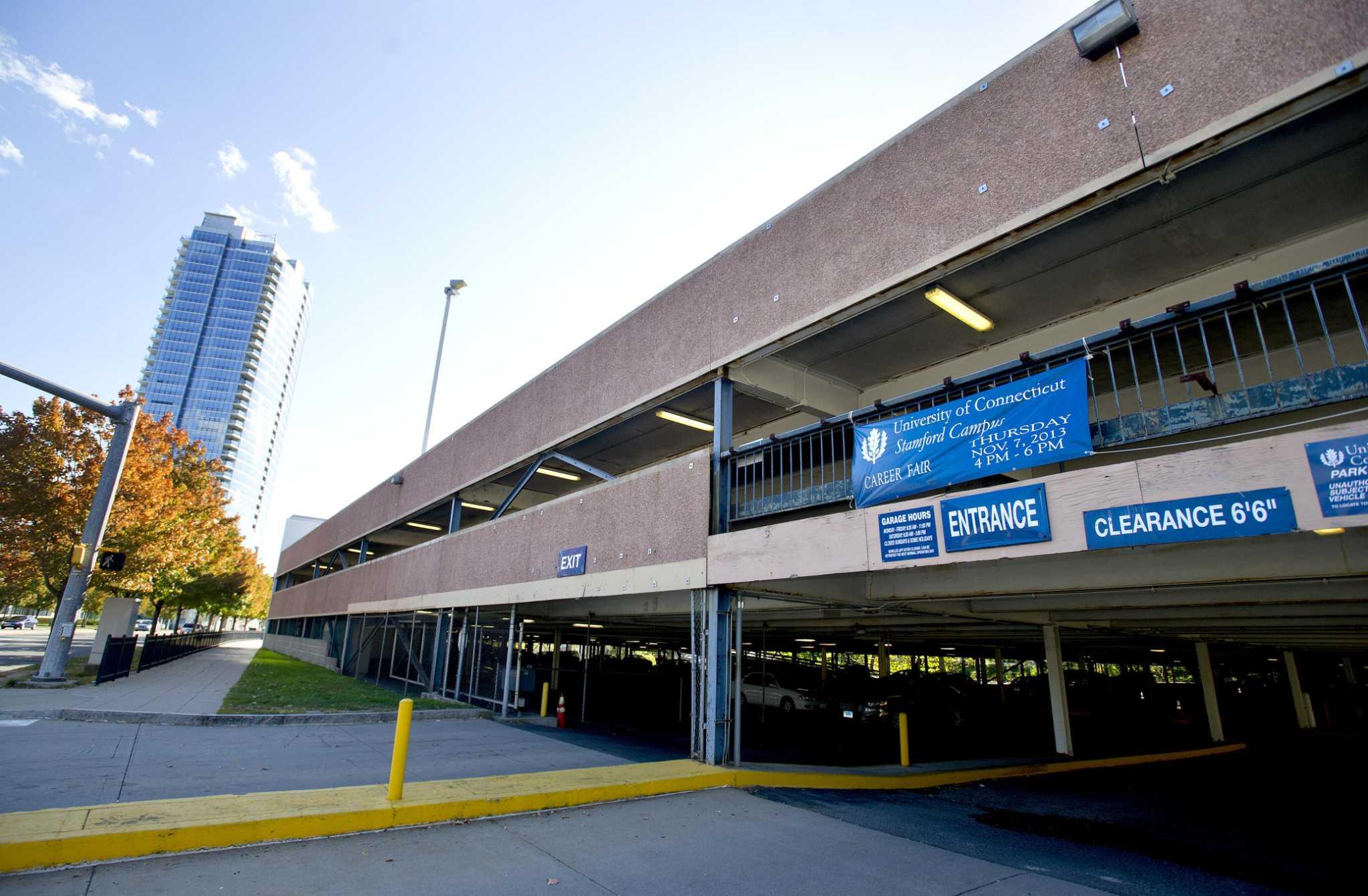 UConn Stamford garage demolition raises questions NewsTimes