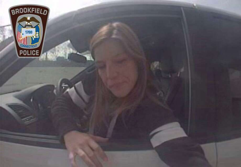 Police are seeking the public's help in finding a woman who might have stolen license plates. Photo: / Brookfield Police Department Facebook /Contributed Photo