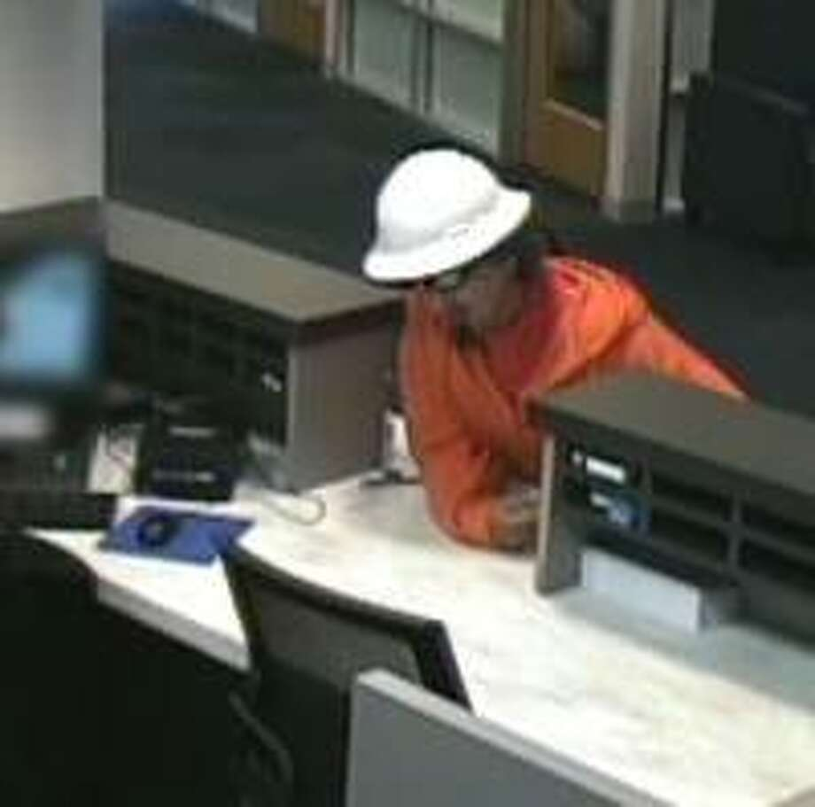 Palo Alto police released an image from security footage showing a man who robbed a bank at gunpoint. Photo: Palo Alto Police Department