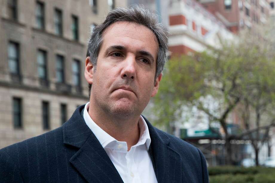 "FILE - This April 11, 2018 file photo shows attorney Michael Cohen in New York. President Donald Trump said Sunday, April 15, 2018, that all lawyers are now ""deflated and concerned"" by the FBI raid on his personal attorney Cohen's home and office. (AP Photo/Mary Altaffer, File) Photo: Mary Altaffer, Associated Press"