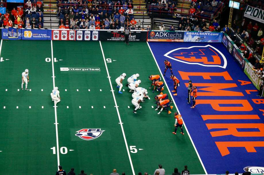 Were you SEEN at the Albany Empire's historic opening night vs. the Philadelphia Soul at the Times Union Center on April 14? Photo: Amanda Case