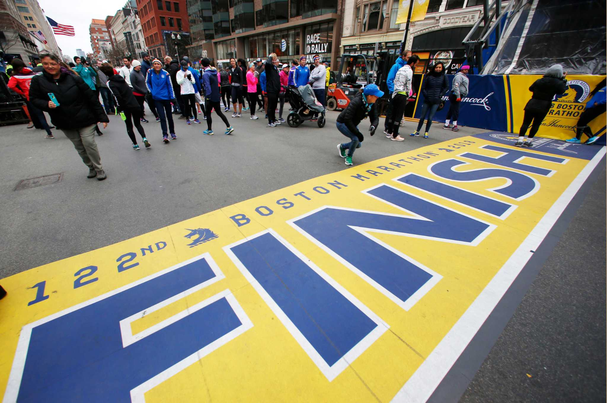 Jeff Jacobs For Tim Ritchie Boston Marathon A Special