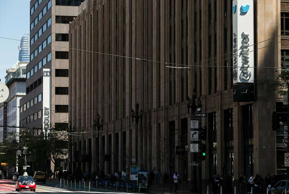 The Twitter building stands on the corner of 10th and Market streets in San Francisco. Tech firms have not only contributed to the city's wealth, but also to its housing shortage. Photo: Jessica Christian / The Chronicle
