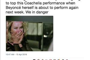 Fans reacted to Beyonce's historic headlining performance at the 2018 Coachella Valley Music and Arts Festival.
