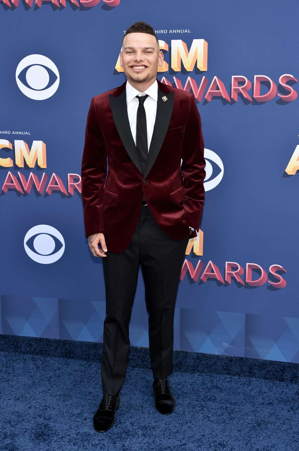 LAS VEGAS, NV - APRIL 15: Kane Brown attends the 53rd Academy of Country Music Awards at MGM Grand Garden Arena on April 15, 2018 in Las Vegas, Nevada. (Photo by John Shearer/WireImage)