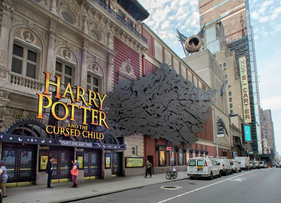 "The Lyric Theater, which was renovated for ""Harry Potter and the Cursed Child,"" in New York, April 4, 2018. The play, a two-part drama, cost about $68.5 million to bring to Broadway, including not only $35.5 million to capitalize the show — more than for any other nonmusical play in history — but also another $33 million to clear out and redo the theater. (Sara Krulwich/The New York Times) Photo: SARA KRULWICH / NYTNS"