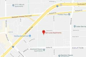 One man is dead after a triple shooting at the San Lucas apartments Sunday, April 15, 2018.