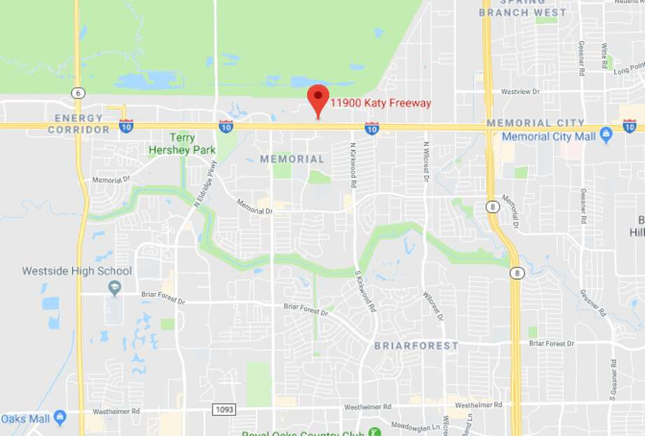 Police are investigating an attempted burglary at a firearms store in the 11900 block of Katy Freeway on Monday, April 16, 2018.