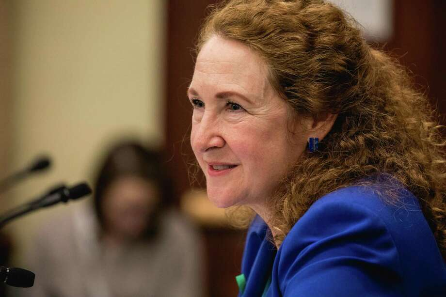 Rep. Elizabeth Esty, D-Conn., speaks at a forum on Capitol Hill in Washington, D.C., on March 20. Photo: Cheriss May /Sipa USA /TNS / Sipa USA