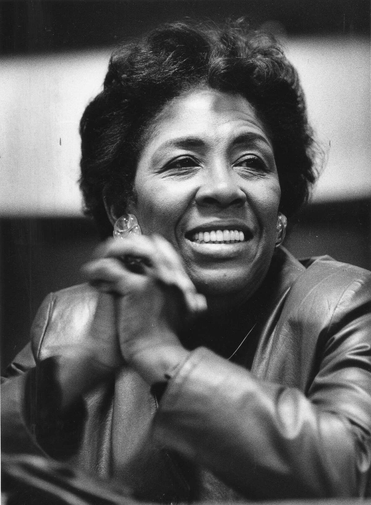 Doris Ward, candidate for 5th Congressional District, February 25, 1987