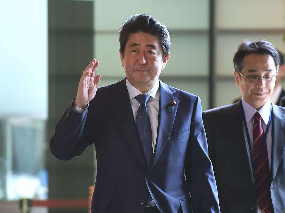 Prime Minister Shinzo Abe faces questions over whether his friends won preferential treatment. Photo: Kazuhiro Nogi / AFP / Getty Images