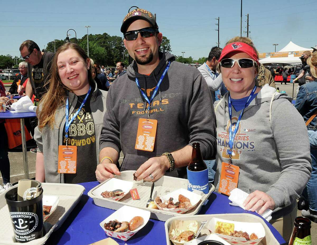 Scenes from the sixth annual Houston Barbecue Festival at the Humble Civic Center Sunday April 15.
