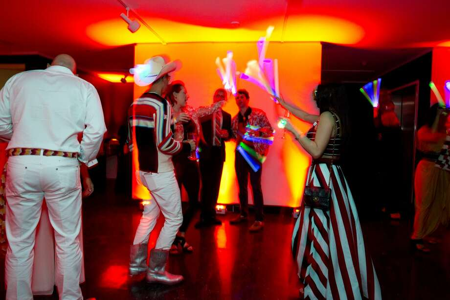 Guests dance at the event's after party. Photo: Jenny Antill