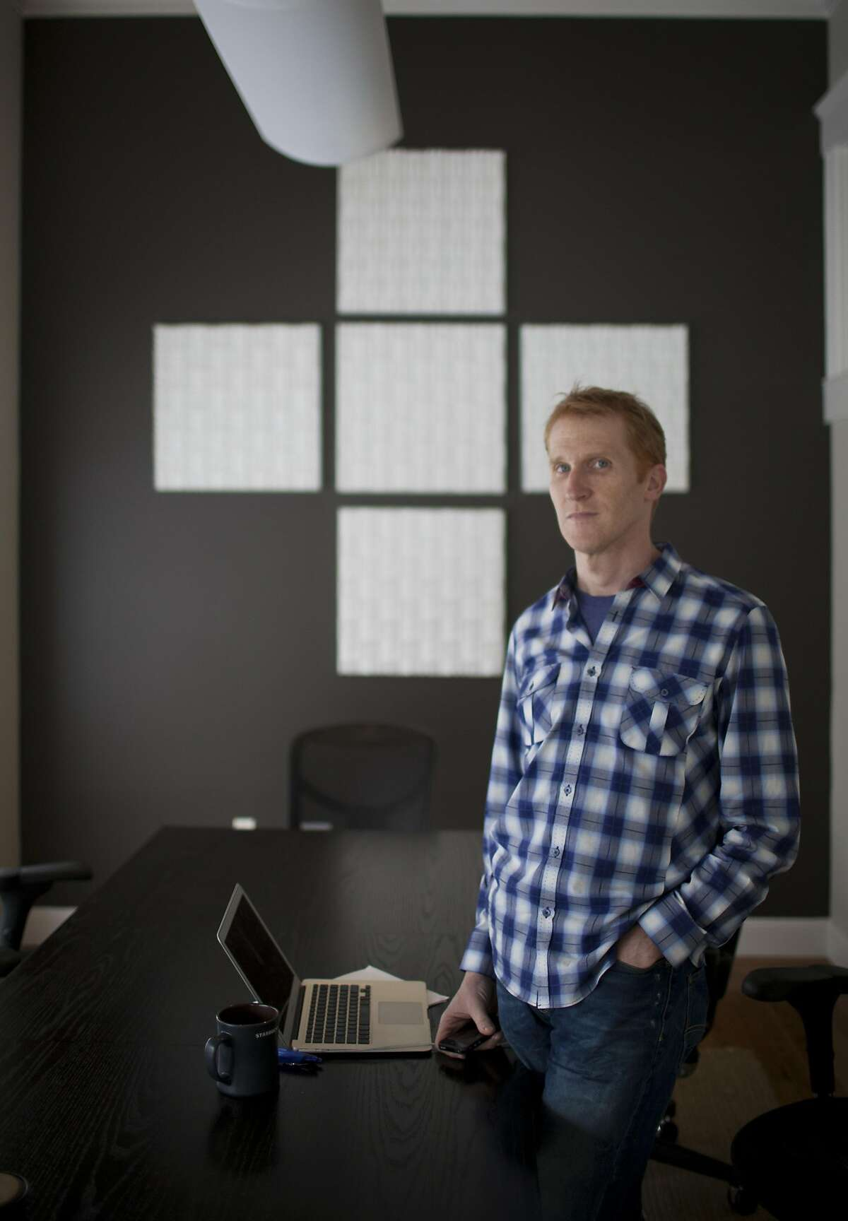 FILE � The venture capitalist Steve Anderson at his office in San Francisco, April 12, 2012. With Dropbox and Spotify successfully going public, tech investors believe that a bonanza of initial public offerings is finally about to arrive. (Peter DaSilva/The New York Times)