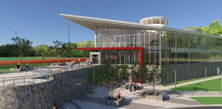 Rendering of new Valentine Athletic Center at Sacred Heart University Photo: Contributed