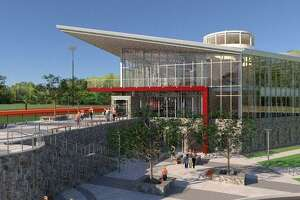 Rendering of new Valentine Athletic Center at Sacred Heart University