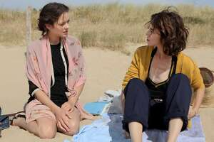 """Marion Cotillard (left) and Charlotte Gainsbourg star in the new French drama, """"Ismael's Ghosts."""""""