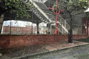 A man was found slain on the sidewalk along Joice Street on Sunday morning in San Francisco's Chinatown.