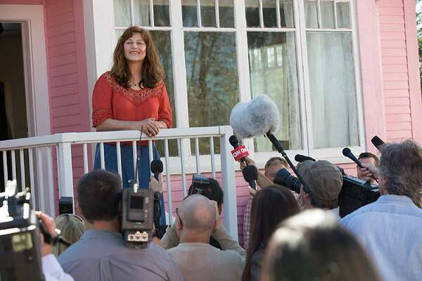"Catherine Keener in a scene from ""Little Pink House."""