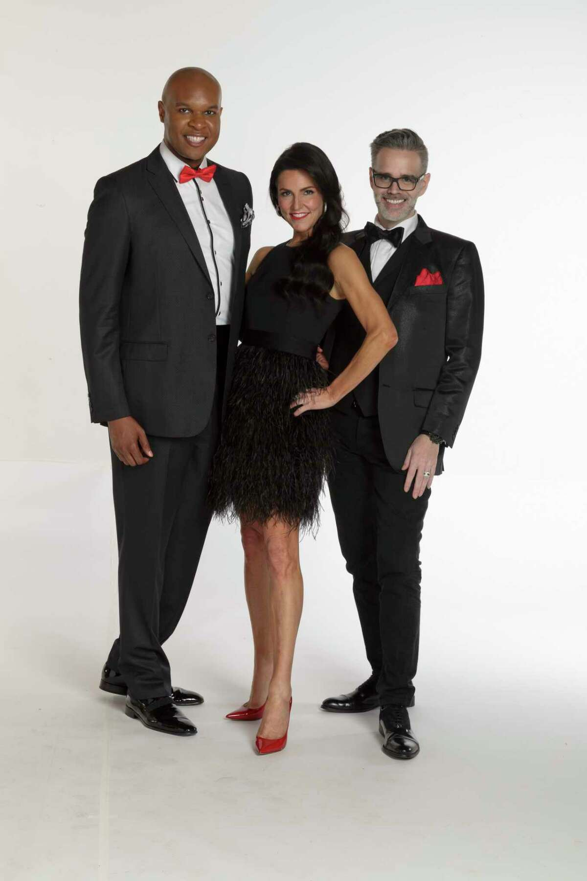 Dine Out For Life chairs Travis Torrence, Jessica Rossman and MIchael Pearce.On April 26 participating restaurants in Houston will donate a percentage of sales to AIDS Foundation Houston.