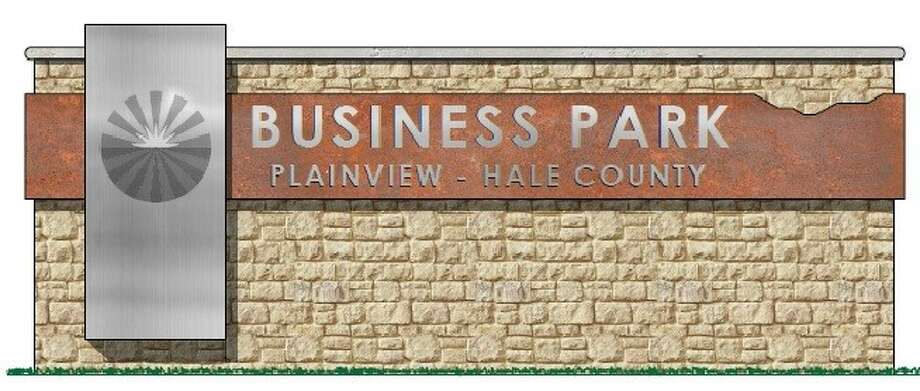 The Plainview-Hale County Business Park groundbreaking ceremony is set for 2 p.m. Monday, April 23 Photo: Courtesy Illustration Of Business Park Entrance