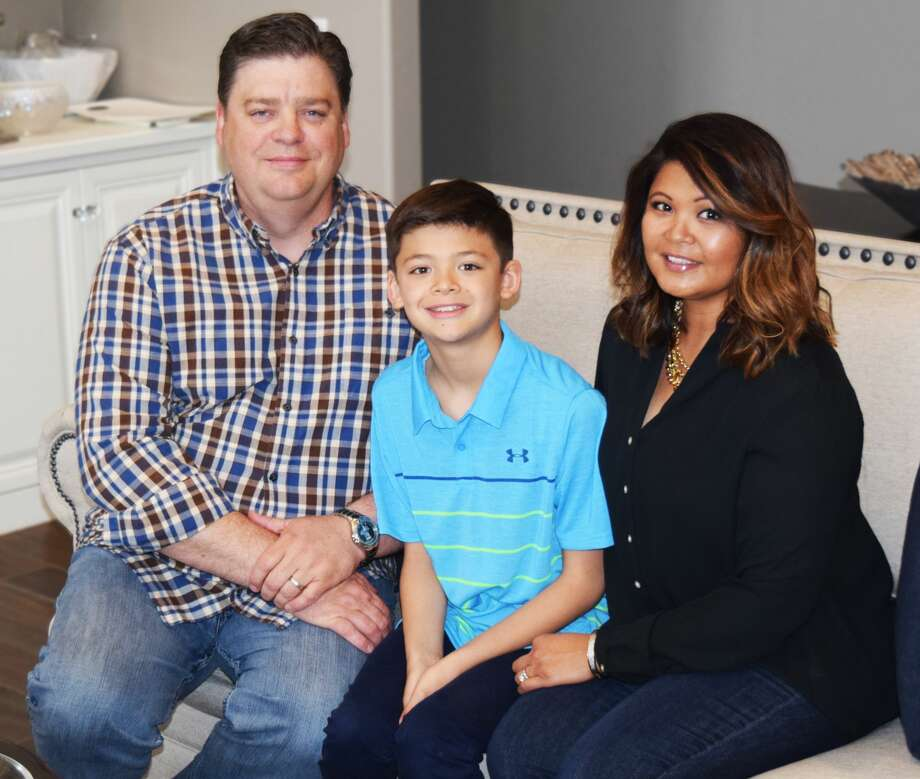 Chairing the 2018 Covenant Health Plainview Foundation Gala will be Dr. Kevin and Christina Jones. Above, Kevin and Christina are joined by 9-year-old son Harrison. The 10TH Annual Gala will be held Friday, April 27. Photo: Homer Marquez/Covenant Health Plainview