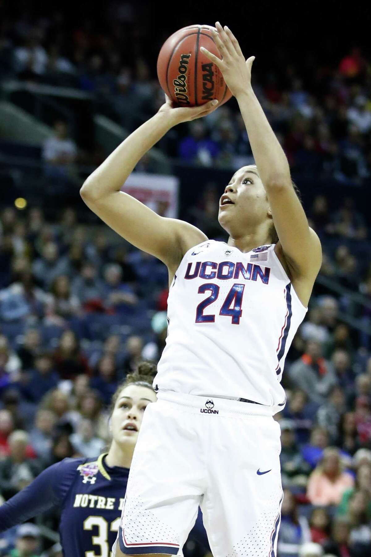 UConn's Napheesa Collier has been invited to the U.S. women's senior national team training camp in Seattle from April 24-26.