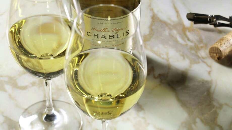 Domaine Servin Vieilles Vignes Selection Massale Chablis was the most lush wine of a recent tasting. (Chris Walker/Chicago Tribune/TNS) Photo: Chris Walker, MBR / TNS / Chicago Tribune