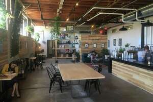 Shotgun House Coffee Roasters occupies space of a former fitness gym at 1333 Buena Vista St.