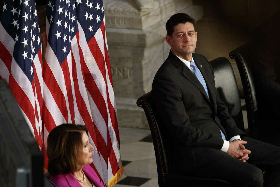 House Speaker Paul Ryan of Wisconsin at an event on Capitol Hill on Thursday. Ryan's surprise exit, and his vow to remain in his office until his term expires in January, set the stage for an unpredictable and possibly unruly leadership battle. Photo: TOM BRENNER /NYT / NYTNS