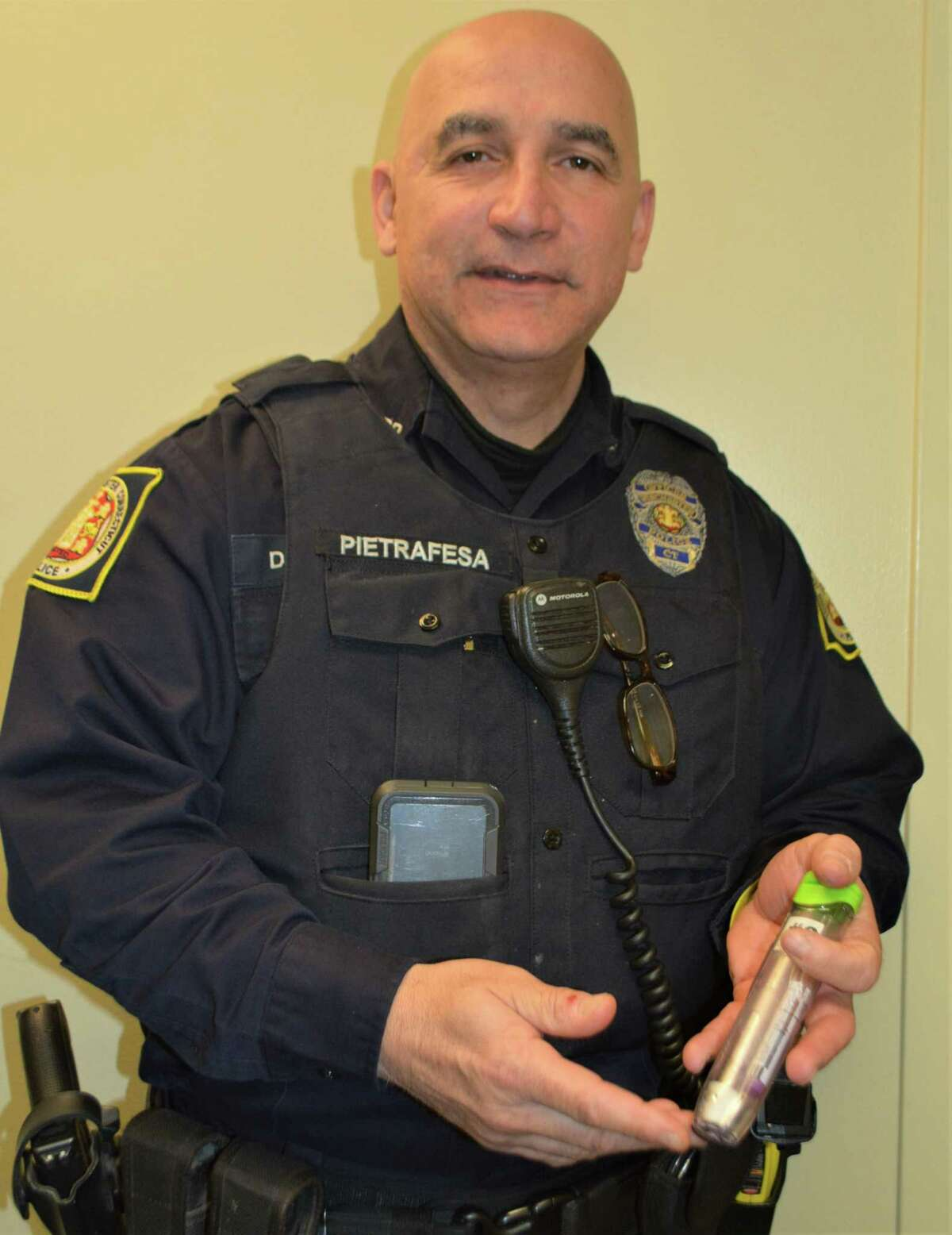 All Winsted Police Officers carry Narcan to prevent overdose deaths