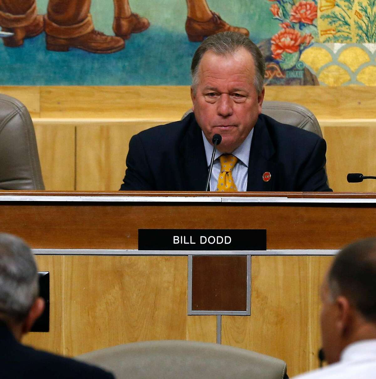 California state Sen. Bill Dodd, D-Napa, is among the critics of a proposal to allow sports betting only inside tribal casinos or the state's four major horse tracks.