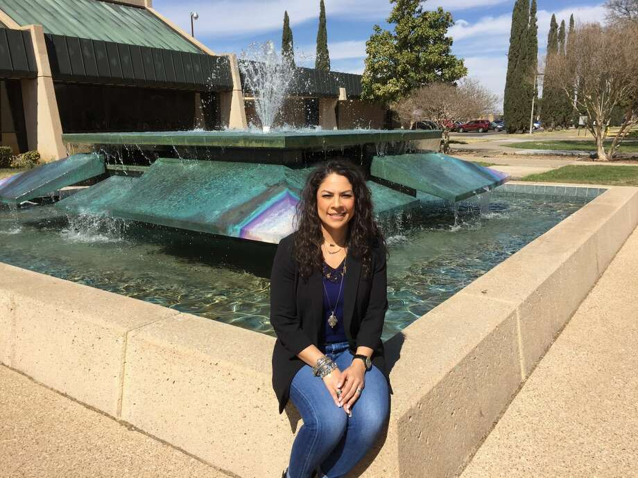 Maribel McLelland said she enjoyed college much better than high school, and her grades at Midland College proved that she was also excelling in her courses. She was inducted into Phi Theta Kappa, the international community college honor society.  Photo: Courtesy Photo