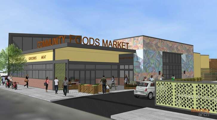 A rendering of Oakland's�Community Foods Market