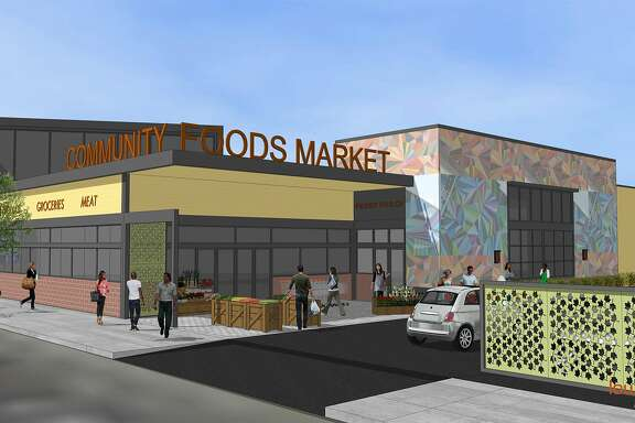 A rendering of Oakland's�Community Foods Market