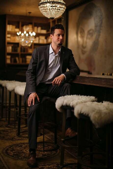 Bar Crenn wine director Matt Montrose. Photo: Mason Trinca / Special To The Chronicle