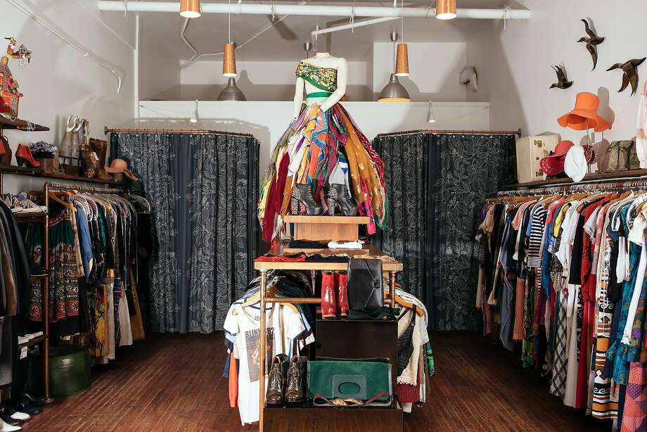 Ver Unica in Hayes Valley has carried vintage clothing from different eras for nearly 20 years. Photo: Mason Trinca / Special To The Chronicle