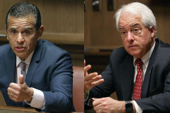 Antonio Villaraigosa and John Cox.