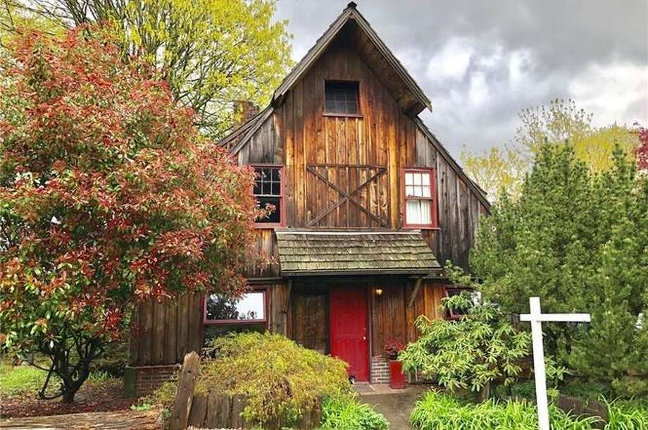 Retro chalet, a fixer with a lot of charm, could be yours for $475K. Photo: Paris Piersson/ReMax All City, Paris Piersson/Re/Max All City