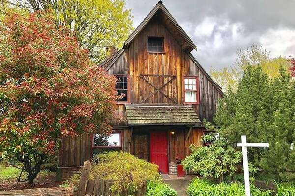 Retro chalet, a fixer with a lot of charm, could be yours for $475K.