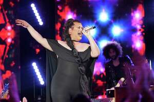 Ada Vox has madef the American Idol top 14 after wowing the judges.