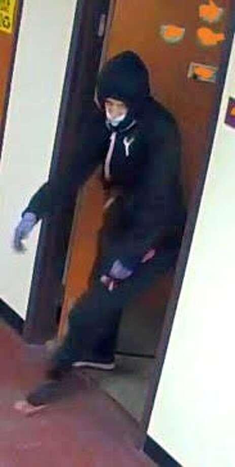 Binghamton University police released photographs Monday of the man suspected of the stabbing death of 19-year-old Joao Souza. Photo: Binghamton University