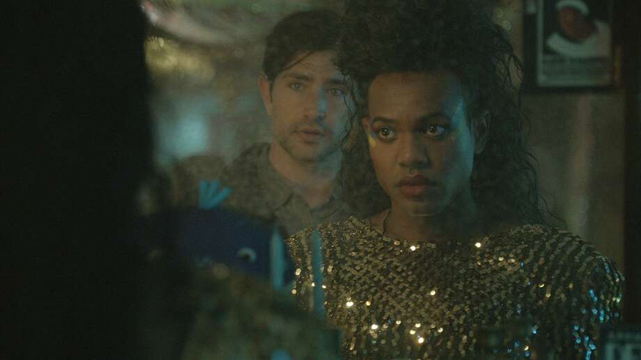 "Matt Dallas and Martin L. Washington Jr. in ""Alaska is a Drag."""